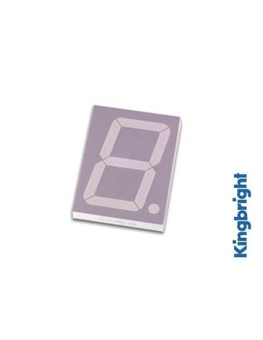 Afficheur 7 segments 57mm cathode commune - rouge