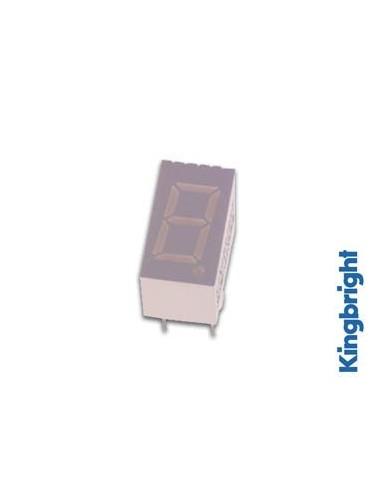 Afficheur 7 segments 9mm cathode commune - super rouge