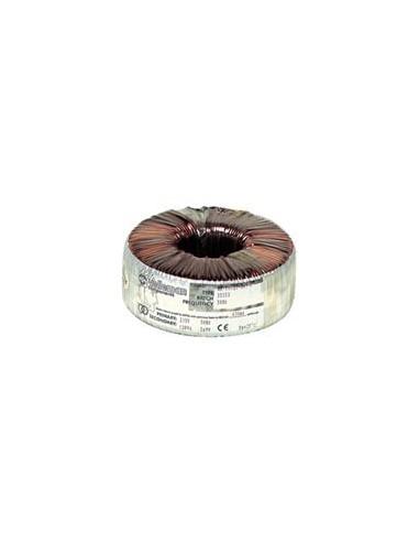Transformateur torique 80va 2 x 12v / 2 x 3,33a