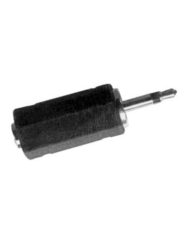Jack male 2.5mm mono vers jack femelle 3.5mm mono - 10 pièces