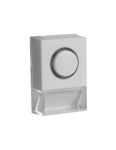 Bouton de sonnette avec plaque lumineuse - no
