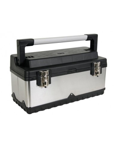 Boîte à outils - acier inoxydable - 505 x 235 x 225 mm