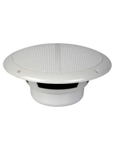 """Jeu de 2 haut-parleurs coniques 6.5"""" avec grilles & resistant a l'eau 120w / 8 ohm (1 paire)"""
