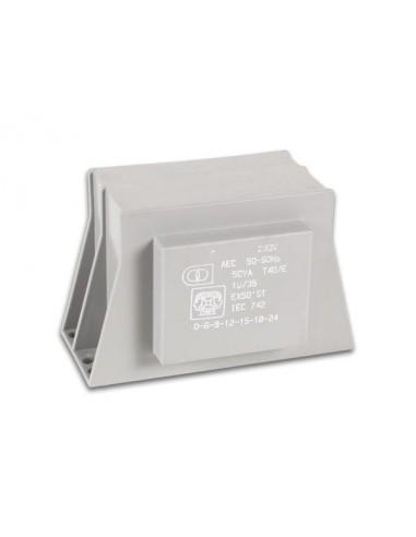 Transformateur d'experimentation 50va 1 x 6-9-12-15-18-24v / 1 x 2.08a