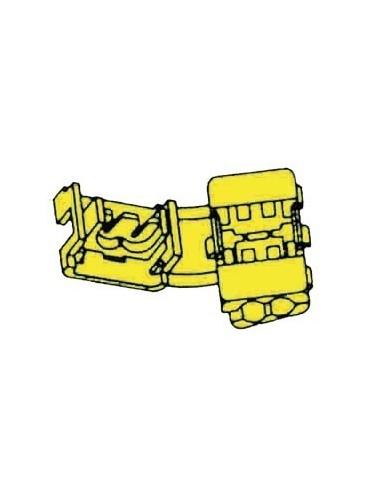 Raccord instantane jaune