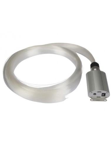 Kit à fibre optique - 550 fibres (2m) - driver de led - rvb