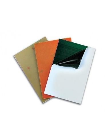 Plaque presensibilisee 100 x 160mm - papier phenol - ss