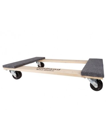 Support roulant pour meubles - rectangulaire - 760 x 460 mm - charge max. 400 kg