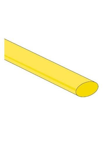 Gaine thermoretractable 2:1 - 9.5mm - vert/jaune - 25 pcs.