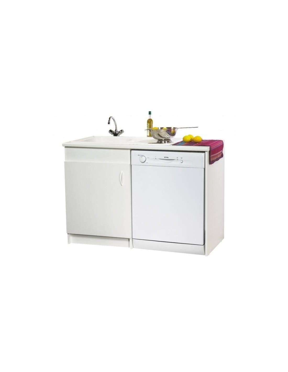 meuble de sous vier option lave vaisselle 120 x 60. Black Bedroom Furniture Sets. Home Design Ideas