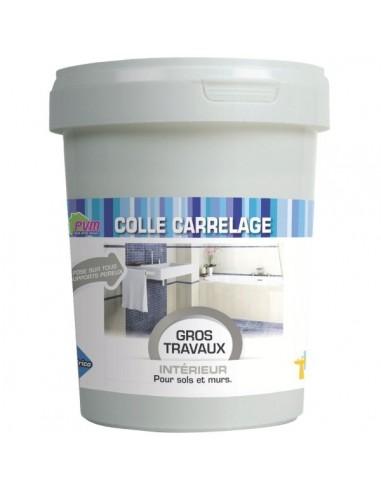 Colle Carrelage Sur Sol Et Mur Pot Plastique 1 Kg Colle Carrelage Sur Sol Et Mur Pot Plastique 1 Kg