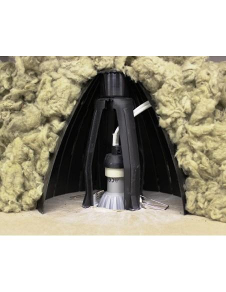 Protection de spot x5 RAMSPOT 60/90 mm pour laine soufflée