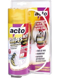 Insecticide guêpes et frelons kit toiture 300