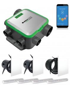 Kit EasyHOME PureAIR COMPACT CONNECT + Grilles de ventilation ColorLINE + Entrées d'air AirFILTER