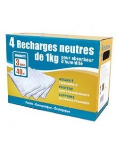 lot 4 recharges 3 neutre+1 gratuit
