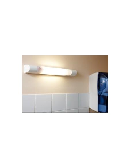 Eclairage,Réglette de salle de bains, prismaline interrupteur 75 w fluo