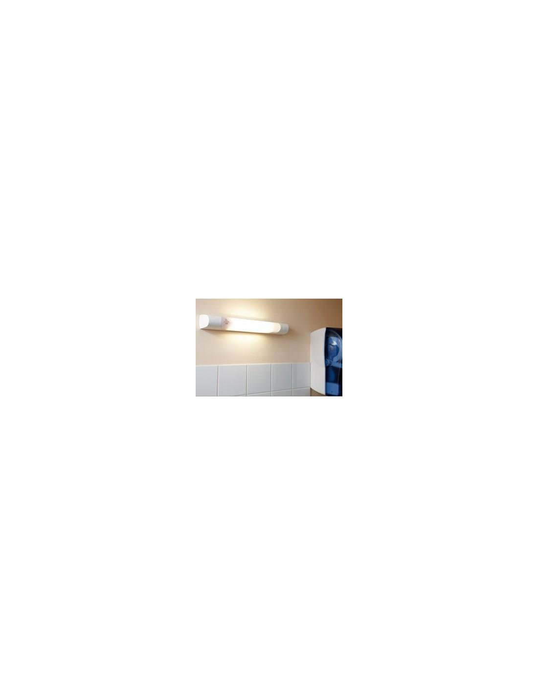 applique de salle de bains prismaline 75 w fluo. Black Bedroom Furniture Sets. Home Design Ideas