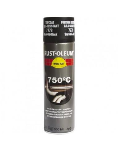 Peinture haute temperature aluminium aerosol 500 ml