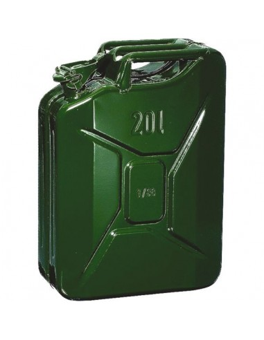 Jerrycan tole hydrocarbures type us 20 l - jerrican
