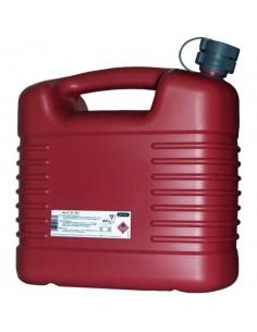 Jerrycan plastique hydrocarbure rouge 5 l - jerrican