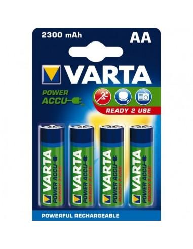 Pile rechargeable varta - blister 4 pile lr03 - aaa-1000mah5676310140