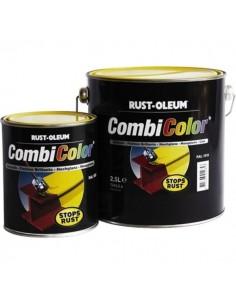 Peinture combicolor brillant jaune gaz ral 1004 pot 0.75 l