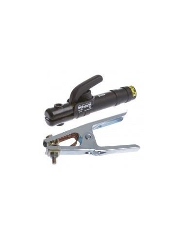 Pinces de masse et porte electrode sur carte - caractéristiques:pince porte électrode 200 a