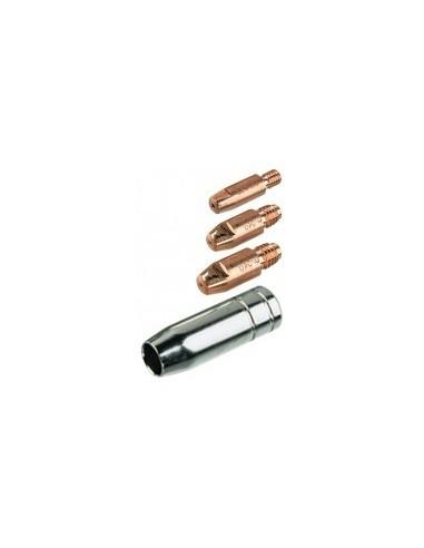 Buse pour torche mig sur carte - caractéristiques:diamètre 0,6 mm (3 pièces)