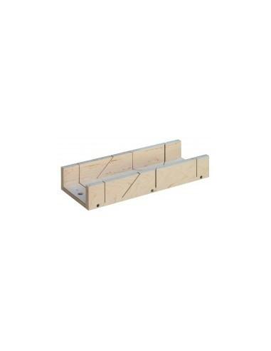 Boîte a onglet pour plinthes «eco» vrac - dimensions intérieures:350 x 100 x h. 50 mm