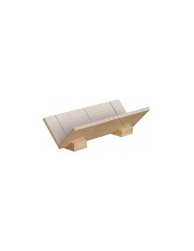 Boîte a onglet pour corniches «eco» vrac - dimensions intérieures:350 x 110 x 110 mm