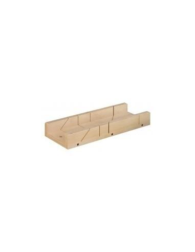 Boîte a onglet pour plinthes vrac - dimensions intérieures:400 x 120 x h. 40 mm