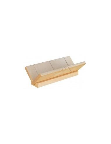 Boîte a onglet pour corniches vrac - dimensions intérieures:450 x 130 x 130 mm