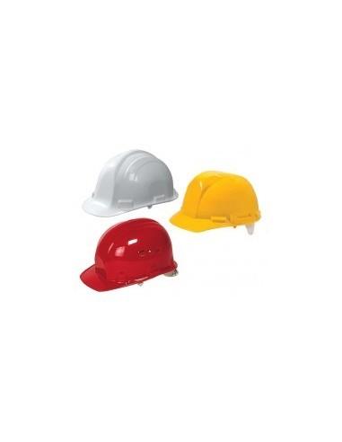 Casque de chantier vrac - caractéristiques:rouge