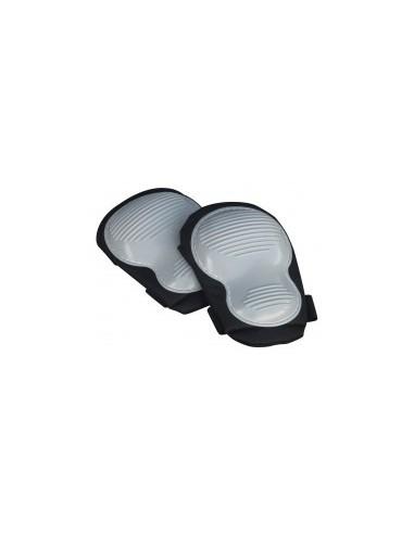 Genouilleres double coque étiquette cavalier -  désignation:paire de genouillères