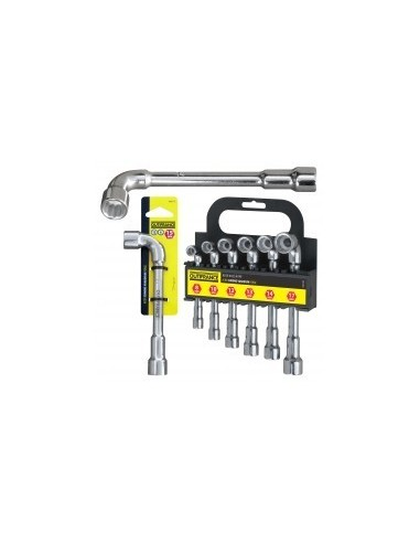 Cles a pipe libre service -  dimensions:6 clés : 8 / 10 / 12 / 13 / 14 / 17 mmpans:
