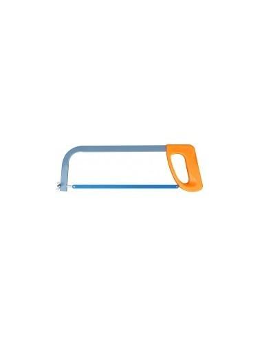 Scie a metaux poignee plastique vrac -  longueur totale:430 mmcapacité de coupe:110 mm