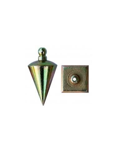 Plomb de mecanicien sur carte -  désignation:plomb ø 40 mm poids:200 g