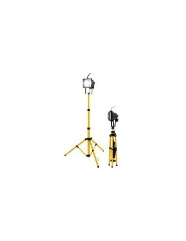 Projecteur halogene sur trepied boîte - caractéristiques:projecteur halogène - 8550 lumens alimentation:230v - 50 hz