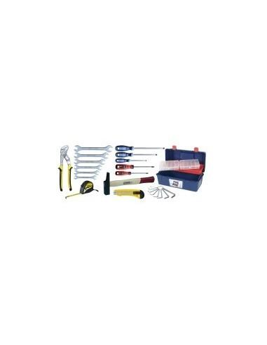 Caisse a outils - 23 pieces vrac -  composition:23 pièces