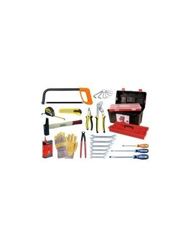 Caisse a outils - 28 pieces vrac -  composition:28 pièces