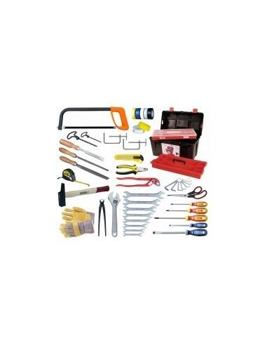 Caisse a outils - 46 pieces vrac -  composition:46 pièces