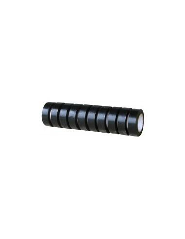 Ruban adhesif pvc isolant vrac - caractéristiques:10 rubans noirs 10 m x 15 mm