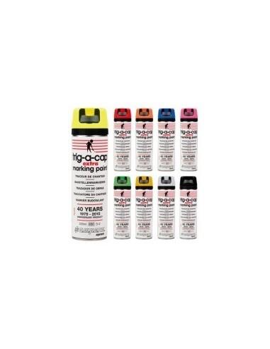Peinture de marquage temporaire vrac - caractéristiques: couleur:jaune fluocontenance/contenu:650 / 500 ml