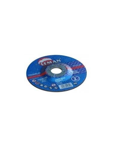 Disques a tronconner les metaux vrac -  désignation:1 disque diamètre:125 mm epaisseur:3,0 mm alésage:22,2 mm