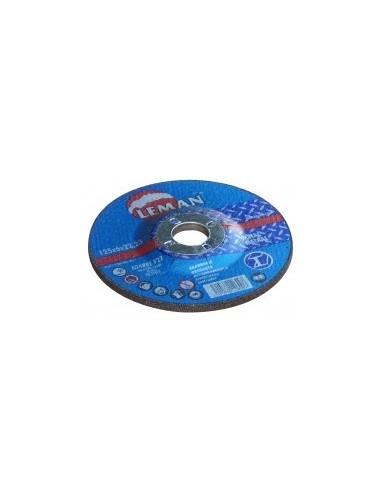 Disques a ebarber les metaux vrac -  désignation:1 disque diamètre:115 mm epaisseur:6,0 mm alésage:22,2 mm