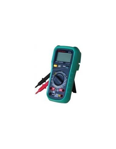 Multimetre digital pro boîte - caractéristiques:max : 600 v - 10 a