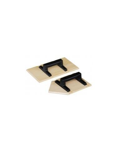 Taloche bois vrac -  dimensions:27 x 15 cm forme:pointue