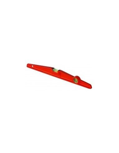 Niveau alu professionnel vrac -  longueur:600 mmnombre de fioles:2 fioles