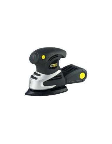 Ponçeuse delta vibrante boîte - caractéristiques:6 patins abrasifs auto-adhésifs delta grain 40