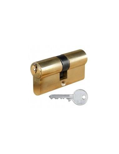 Cylindres laiton sur carte - caractéristiques:cylindre laiton 30 x 30 mm